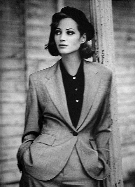 Arthur Elgort, Christy Turlington -True gentlewoman