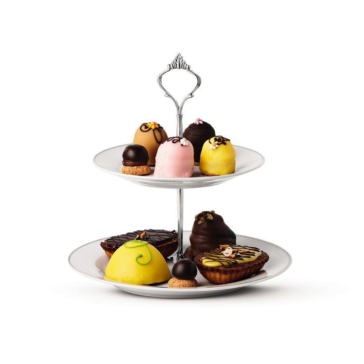 Patera piętrowa to więcej słodkości! #patera #porcelana #cakeplate #kuchnia #kitchen #tigerpolska #tigerstores #ciastko #ciasto #cake #dessert #deser #cookie #cookies #pie