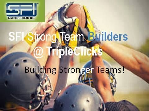 "Sponsoring Serious ""Strong Team Builders!"" 