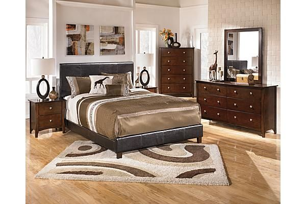 The Rayville Upholstered Bedroom Set From Ashley Furniture Homestore Afhs Com The
