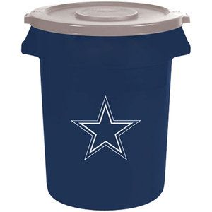NFL  Dallas Cowboys 32 Gallon Trash Can