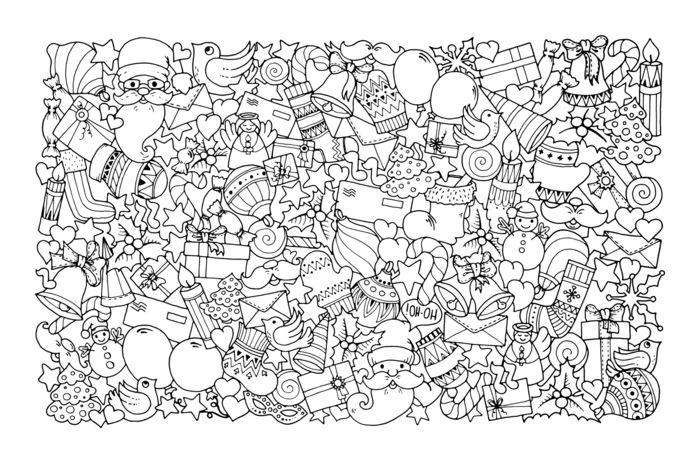 1001 Ideas De Dibujos Navidenos Para Colorear Dibujos De Navidad Para Imprimir Hojas De Navidad Para Colorear Arbol De Navidad Para Colorear