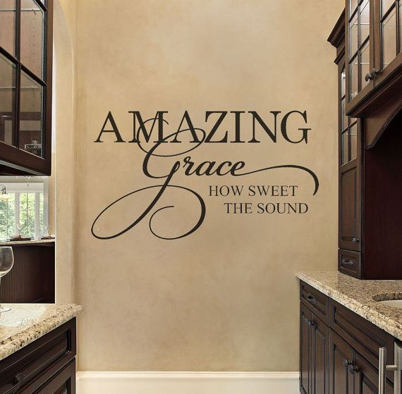 Best Christian Wall Decals Ideas On Pinterest Wall Decals - Custom vinyl wall decals sayings for family roomitems similar to entry wall quote family wall decals home family
