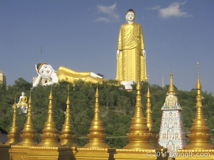 Monywa Buddhas, Myanmar