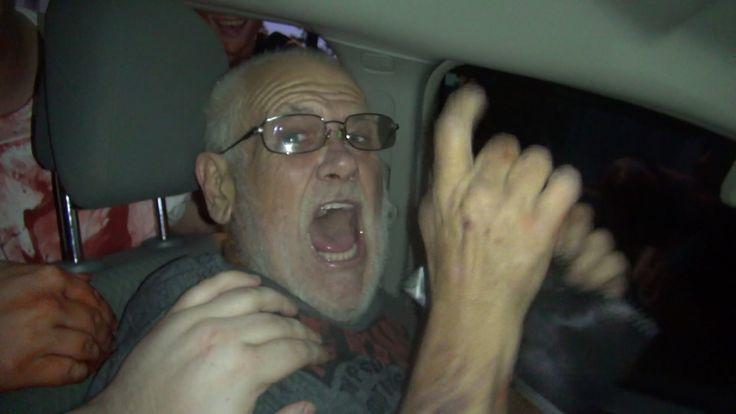when Grandpa got punked by the THE WALKING DEAD PRANK!