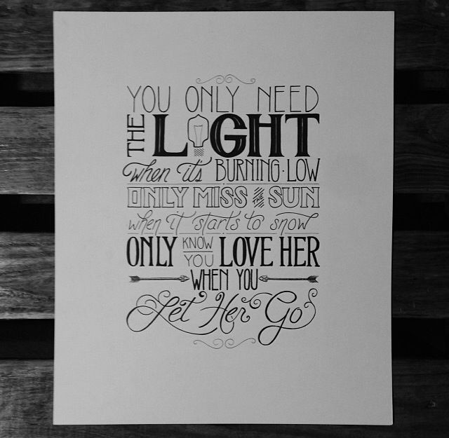 I love quote designs and this one is done well, BUT TYPE CRIME.. uses over three different typefaces.