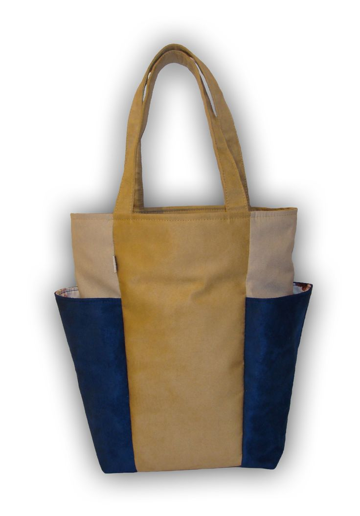 BIG POCKETS new bag - 3 colours beige dark blue light grey http://www.totostyle.pl/