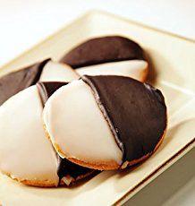 Epicurus.com Recipes   Zabar's Black-and-White Cookies