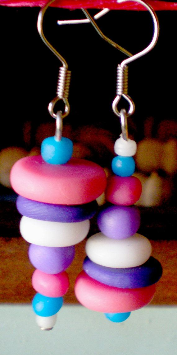 Polymer clay handmade earrings by Ralitsa by Inspiration2Art, $6.99