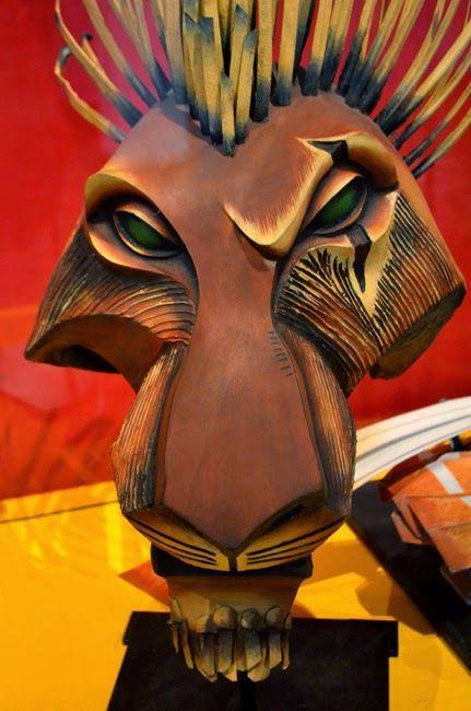 scar broadway lion king mask - Google Search