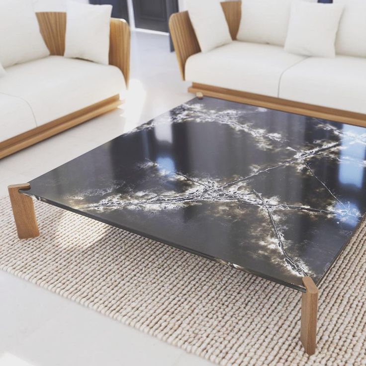 BAY, the new table designed by ARIK LEVY for @puntmobles, takes inspiration from the encounter between the water and continent Meet Punt at #SaloneDelMobile, Hall 6 - Stand E25 #archiproducts