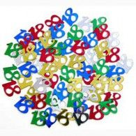 Scatterfetti Number 18 Multi 15gms $2.95 B400134