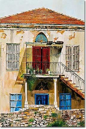 The beauty of aging. Traditional Lebanese house growing older. #lebanon #architecture #heritage