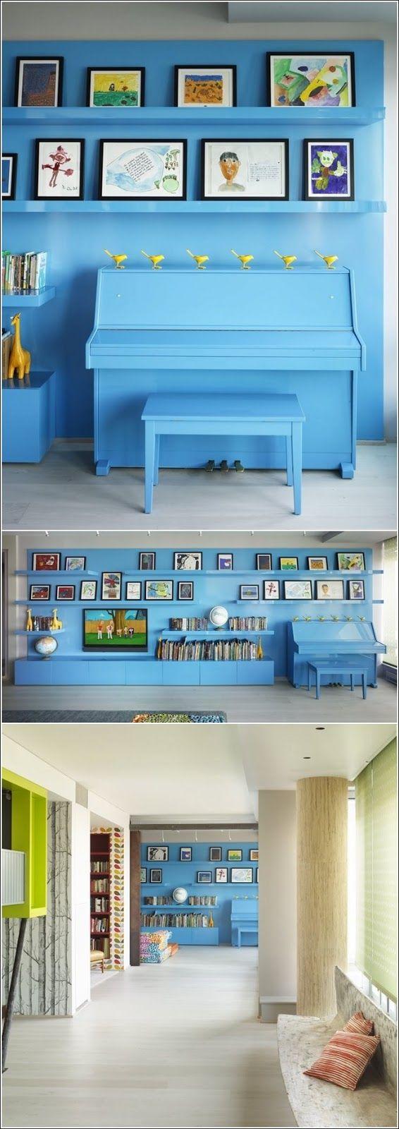 Concevoir votre intérieur avec un piano !