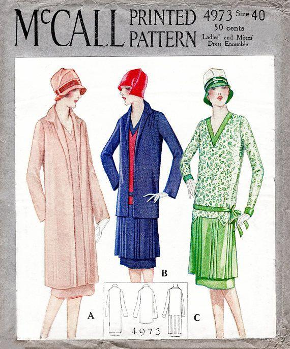 45 best Sewing - Vintage images on Pinterest | Vintage schnittmuster ...