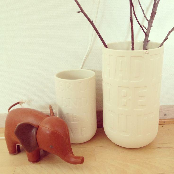 From www.stilia.dk - love My new stuff from StiLia; Züny animal and Kähler LoveSong