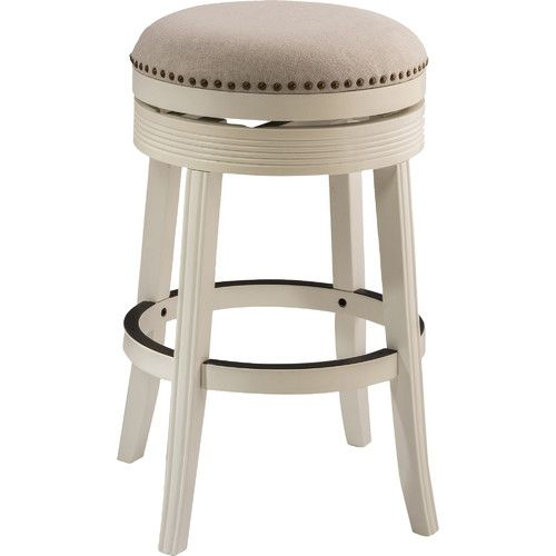 hillsdale furniture tillman backless swivel bar stool the hillsdale furniture tillman backless swivel bar stool is replete with understated style and