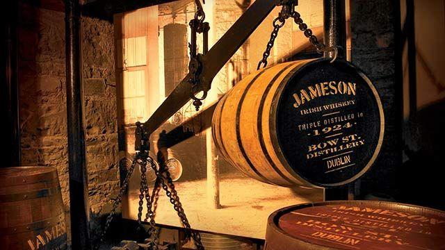 Jameson irish whiskey tour, Dublin