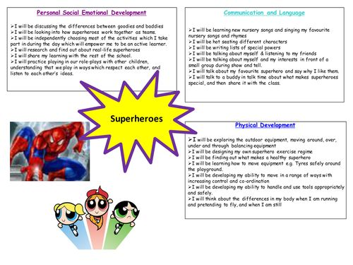 Eyfs writing assessment examples