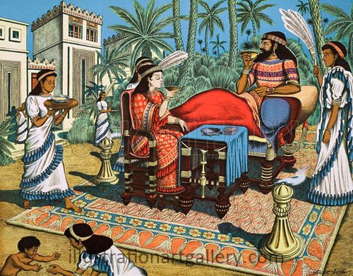 images of traditional mesopotamian priestesses - Google Search