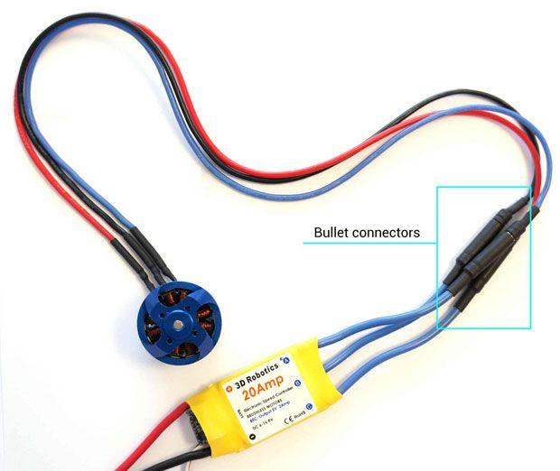 Esc Motor Connect Rc Planes Electronic Parts Drone Design