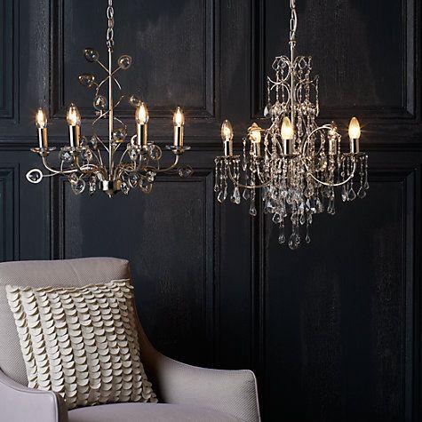 56 best lighting ideas images on pinterest good ideas home buy john lewis estella chandelier 5 arm online at john lewis aloadofball Gallery