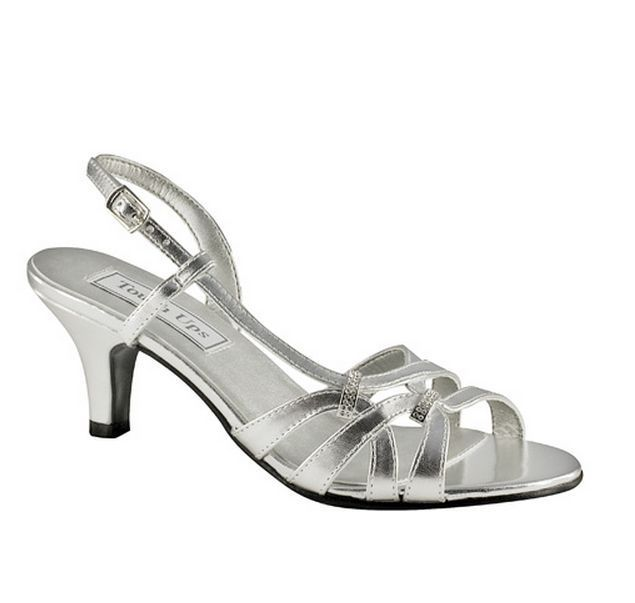 Bridal Shoes Wide Feet: Details About WIDE WIDTH Woven Strappy Silver Slingbacks