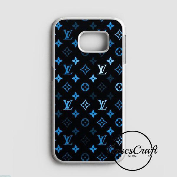 Louis Vuitton Blue Pattern Samsung Galaxy S7 Edge Case | casescraft