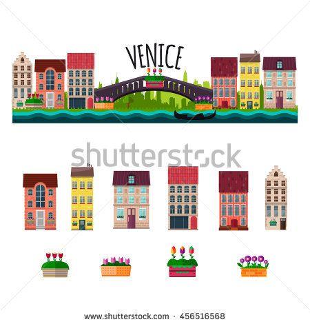 Image Result For Venice Italy Clipart Venice Rialto Bridge Venice Italy