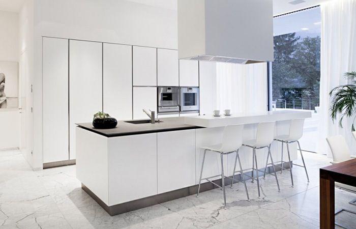 25 beste idee n over witte keukenkasten op pinterest witte keukens wit kookeiland en witte - Groene en witte keuken ...