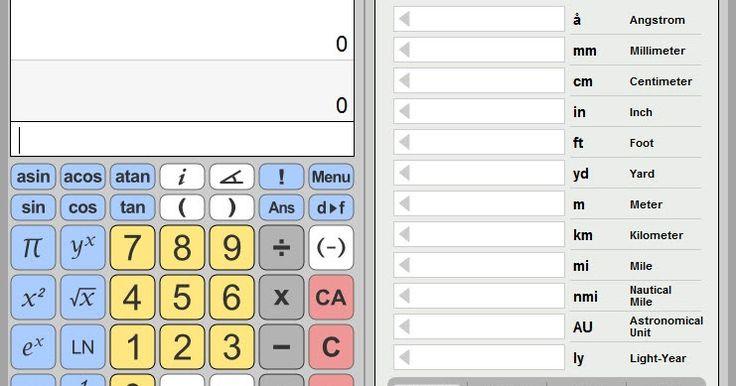 """Το eCalc είναι μια δωρεάν και εύκολη στη χρήση επιστημονική αριθμομηχανή που υποστηρίζει πολλά προηγμένα χαρακτηριστικά όπως μετατροπή μονάδων επίλυση εξισώσεων και σύνθετα μαθηματικά. Το eCalc προσφέρεται τόσο ως δωρεάν ηλεκτρονική αριθμομηχανή όσο και ως υπολογιστής με δυνατότητα λήψης. Λειτουργεί είτε με αλγεβρική είσοδο (προεπιλεγμένη λειτουργία) είτε με είσοδο RPN.  Η λειτουργία αριθμομηχανής έχει οριστεί κάνοντας κλικ στο σύμβολο """"ALG / RPN"""" στη γραμμή κατάστασης ή αλλάζοντας τη…"""