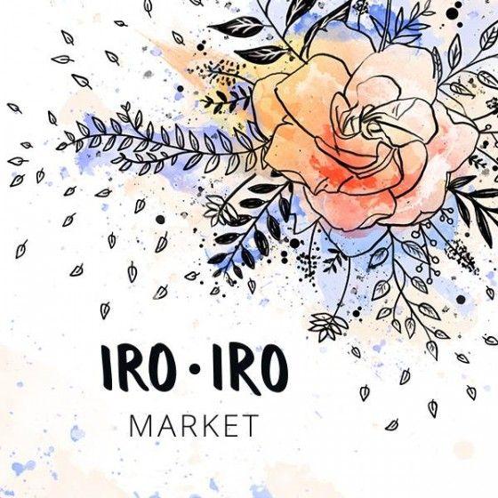 Iro.Iro Market organisé par l'espace Ma et la Team Etsy Petit Paris avec Kraftille. Design du visuel par Sophie Rocher Illustration