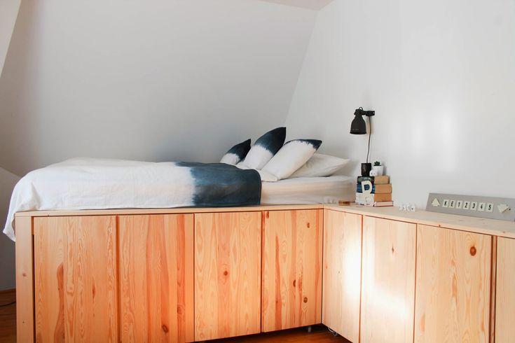 1000 bett mit stauraum pinterest duvet. Black Bedroom Furniture Sets. Home Design Ideas