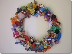 what to do with all those abandoned Happy Meal toys.  #recycled
