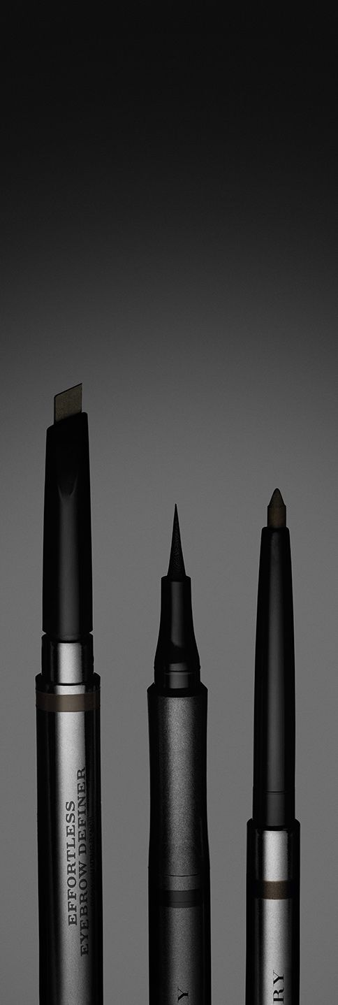 Effortless Eyebrow Definer and Effortless Eyeliners - new from the Burberry make-up collection