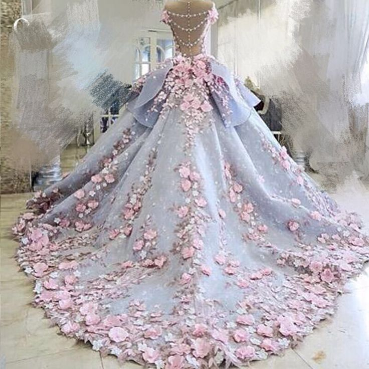 Wedding dress lace fabric flowers fashion dresses for Cloth for wedding dresses