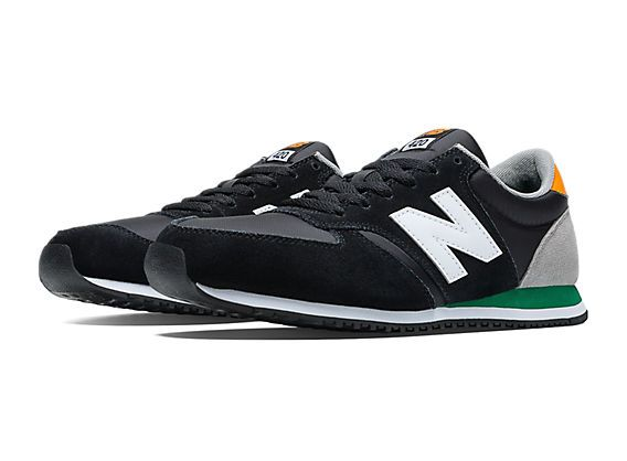 new balance 420 black and green