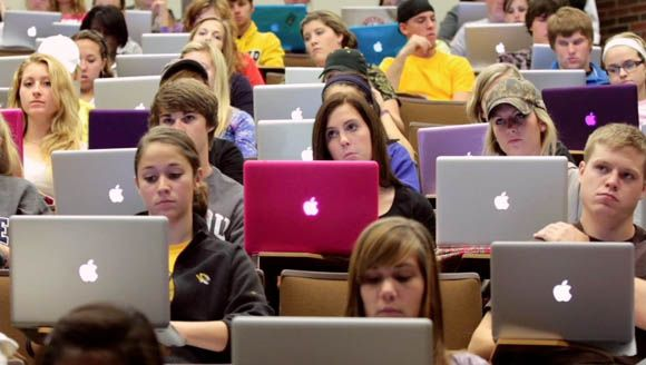 Apple in colleges...