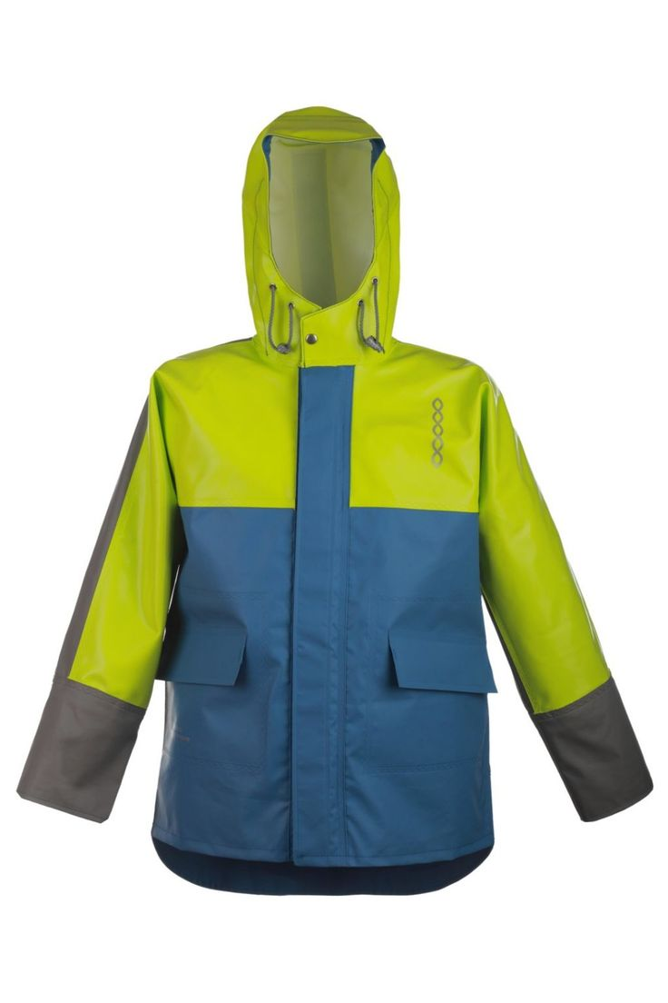 WATERPROOF STORM JACKET model: 1133 Waterproof jacket model 1133 is made of two types of fabric. The parts most exposed to mechanical damages are made of very resistant fabric Seal Skin, and to increase the comfort, the fabric OPALO has been used as well. Both fabrics have high parametres of resistance against salt water and flame retardant features as well.
