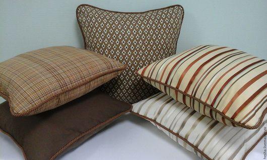 """Текстиль, ковры ручной работы. Ярмарка Мастеров - ручная работа. Купить подушки """"уют в доме"""". Handmade. Комбинированный, подушки в подарок"""