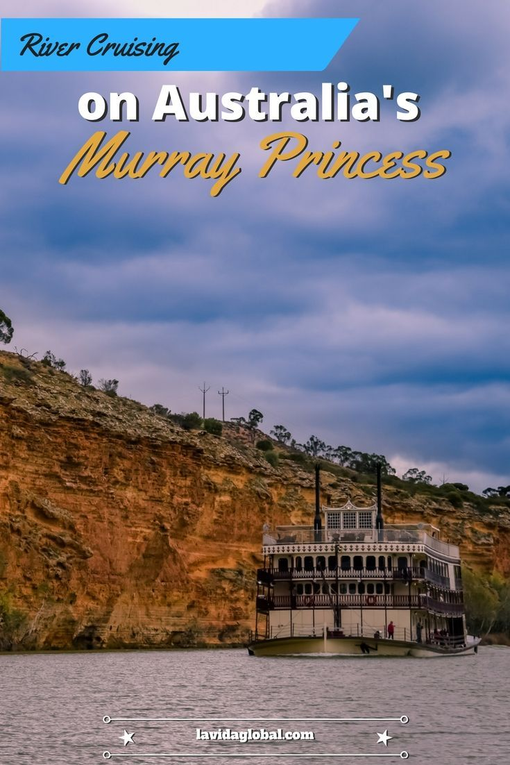 """If you thought the only place to experience the majesty and romance of cruising the rivers on a """"Paddle Wheeler"""" was the Mississippi then we have news for you. A few days river cruising on Australia's Murray Princess is like no vacation you have had before."""