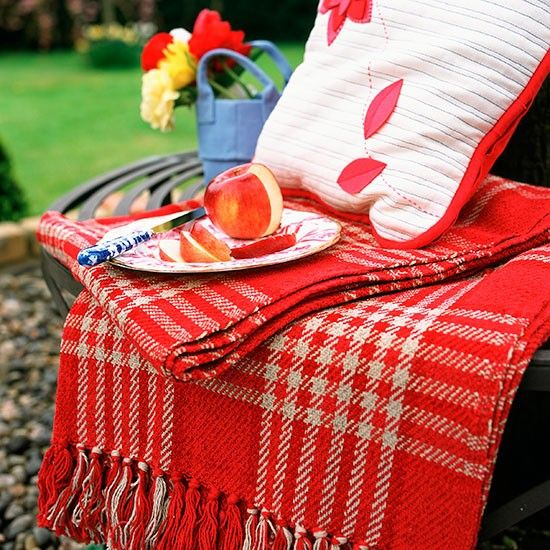 Red Outdoor Decor
