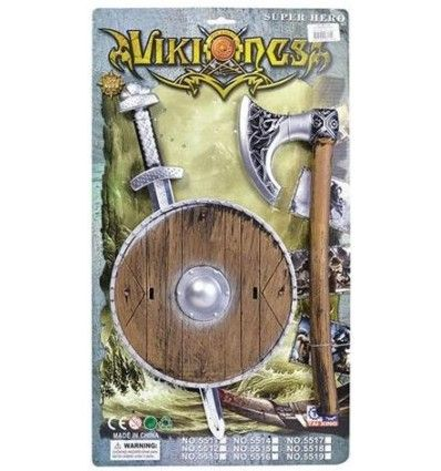 Viking-set barn