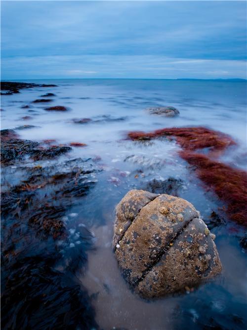 Shell island beach,Wales,Great Britain