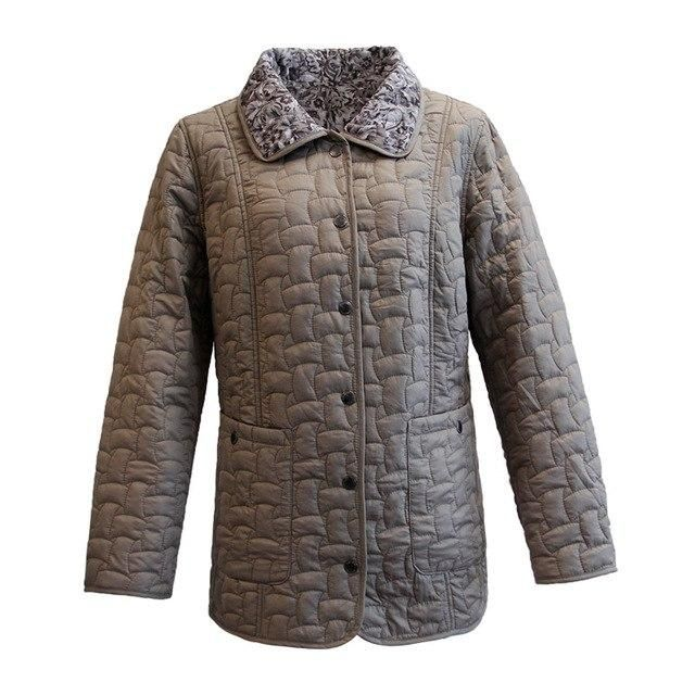 MS VASSA Autumn Women jacket Double-sided w ladies casual jacket with flock turn-down collar plus size Cota S - 7 outerwear beig 7