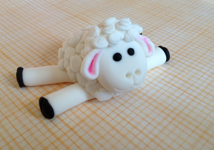Image detail for -Fondant Sheep/Lamb Cake Topper 25 Long 2 by SweetIdeaCreations