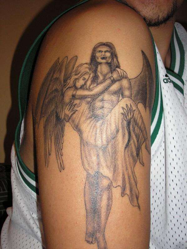 Fallen Angel Tattoos – Designs And Ideas