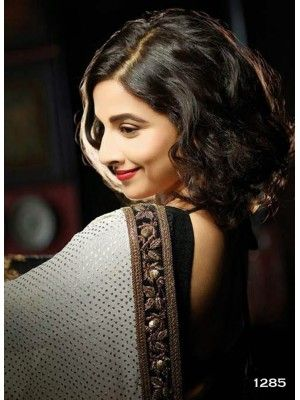 Vidya Balan White Saree With Black Border At Filmfare 2013 Check our New Bollywood collection, http://20offers.com/vidya_balan_white_saree_with_black_border_at_filmfare_2013?search=vidya#.UzvjnqiSzxA , Available for shipping worldwide,  Buy Bollywood Sarees at lowest price in USA, CANADA, AUSTRALIA, NEW ZEALAND, SINGAPORE, MALYASIA ,UK, NETHERLANDS, FRANCE, JERMANY - Indian Clothing Online!
