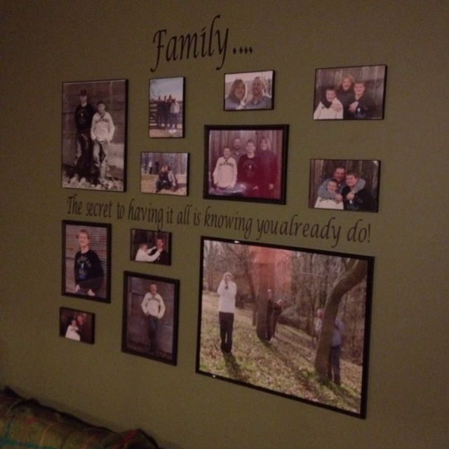 1000 ideas about wall picture arrangements on pinterest photo walls picture frame. Black Bedroom Furniture Sets. Home Design Ideas