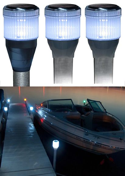 29 Best Solar Marine Amp Boating Lights Images On Pinterest